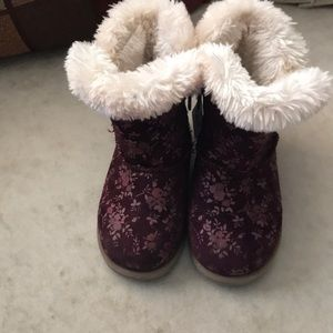Cat & Jack Winter Boots (Toddler Girl 8)